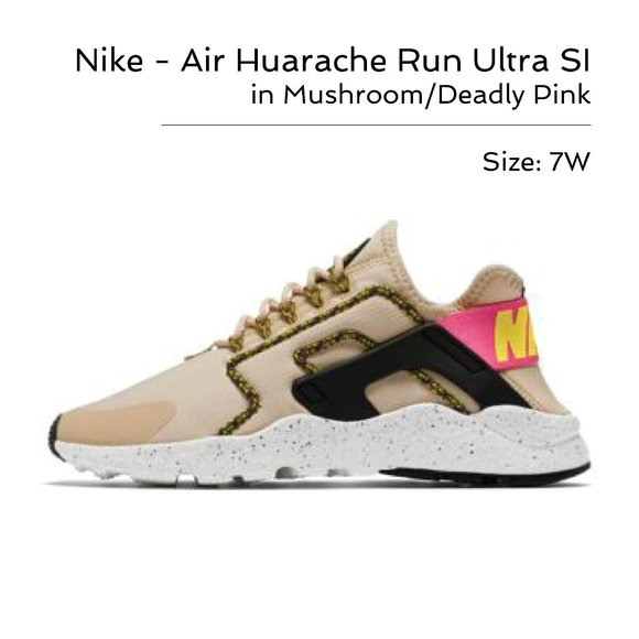 🆕 Nike - Air Huarache Run Ultra - Size 7W